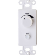 C2G Wall Plate Volume Control, White