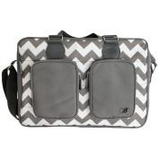 My Babiie Billie Faiers Slate Grey Luxury Changing Bag