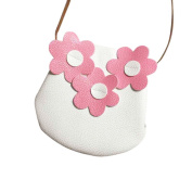 Flower Print Princess Bag Minuya Girl Mini Messenger Cute Purse