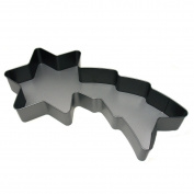 Panetta Casalinghi Star Comet Shape Teflon Mould, Wood, Multi-Colour, 37 x 19 x 4.5 cm
