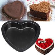 18cm Heart-shaped Cake Mould Baking Carbon Steel Non Stick Bakeware Cake Pan