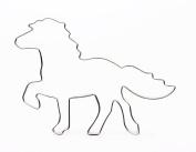 Islandpferd 12 cm Stainless Steel Biscuit Cutter Horse