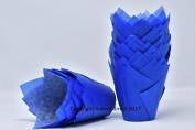 50 Blue tulip muffin wraps cases FREEPOST