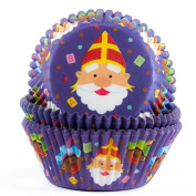 House of Marie Baking cups Saint Nicholas - pk/50