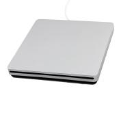 USB 2.0 Plastic External Floppy Disc DVD-RW Slot-in Diskette CD Drive for Laptop