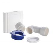 Nilfisk Saugdose DESIGN White including Installation Kit