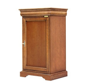 Space saving small cabinet for dining room, entryway wood cabinet 1 door 1 drawer, living room small cabinet 51.5 x 40 x 89.5 cm, handmade sideboard, wood cabinet made by expert artisans