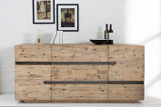 Casa Padrino luxury sideboard B.170 x H.80 x T.45 - TV cabinet - chest of drawers - Handmade from solid wood!