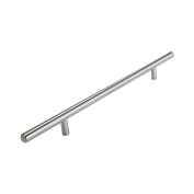RCH Hardware H-C002S-224-Ssb Solid Stainless Steel T-Bar Pull Handle for Cabinets and Drawers