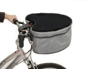 Petego Pet Dog Carrier-Basket with Bike Connexion, One Size, Grey