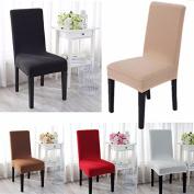 Bureze SOFO Elegant Jacquard Fabric Stretch Chair Cover