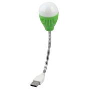 Unique Bargains DC 5V Mini Flexible Computer USB LED Light Lamp Green for Laptop Desk Reading