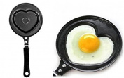 Swan household ® - Heart-Shaped Egg Pancake Pan Non-Stick Frying Pan