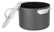 Viking 40051-0428 Hard Anodized Nonstick Stock Pot, 7.6l, Grey