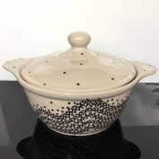 Vase Ceramic Soup Pot Very Good Retains Heat 1.6L 1185