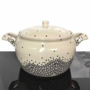 Vase Ceramic Soup Pot Soup Bowl Large Pot 3.5 L 1185
