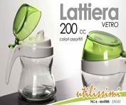 Milk 200 cc Assorted Colours Elegant Glass Kitchen Home