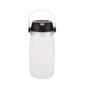 Creative Sport Drink Water Camping Bottle Solar Charge Luminous Travel Bike Cup