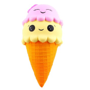 Stress Reliever Toys,MORWIND Cute Ice Cream Squishy Scented Squishy Slow Rising Squeeze Toy Jumbo Collection For Kid And Adults