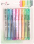 Creative Devotion Fineliner Water Soluble Pens 9/Pkg-Assorted Colours
