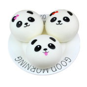 Cute Simulated Panda Bread Squishy Toy Cream Scented Slow Rising Cream Scented Squeeze Toy Decompression Toys Decoration