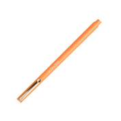 Uchida Fluorescent Orange Le Pen .3MM Micro Extra Fine Synthetic Point Smudge-Proof Ink