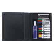 Skilcraft 12-colour Dry Erase Marker System - Point Marker Point Style, Chisel Marker Point Style - Purple Ink, Red Ink, Blue Ink, Green Ink, Orange Ink, Yellow Ink, Brown Ink, Black Ink -