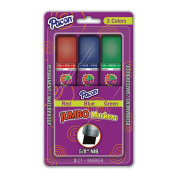 JUMBO MARKERS ASSORTED colours