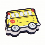 MAGNETIC WHITEBOARD ERASER SCHOOL BUS