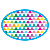 colour TRIANGLES MAGNETIC WB ERASERS