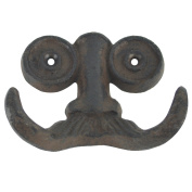 Nose Spectacles/Moustache Face Wall Hook Key/Towel/Jewellery Hanger Steampunk Decor