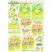 Easter Card Making A4 Traditional Decoupage Sheet 4169.789