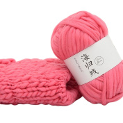 huichang 50G Hand-woven Multicolor Crochet Soft Knitting Yarn Fibre Natural Yarn DIY Weaving