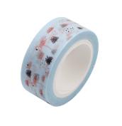 Gluckliy Flamingo Washi Tape Decorative Masking Tape Adhesive Tape Scrapbooking Sticker Paper DIYCraft Gift