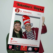 Instagram Photo Selfie Frame Valentine's Day Party Personalised Prop
