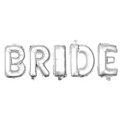 Non-Floating Bride Letter Balloons Bridal Shower Bachelorette Party Decorations Small