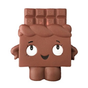 Jumbo Chocolate Cream Scented Squishies Slow Rising Kids Gift Stress Relief Toys