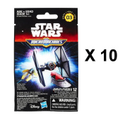 Star Wars The Force Awakens Micro Machines Series 3 Blind Bag Party Favours - Pack of 10