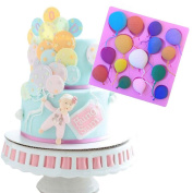 Baby Kids Cake Mould Silicone Balloons Fondant Chocolate Decorating Mould Baking Tools