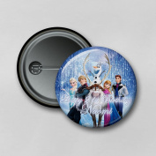 Disney Frozen (5.8cm) Personalised Pin Badge Printed in Hi-RES Photo Quality