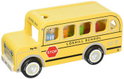 Indigo Jamm Benji Bus Wood Toy Vehicle