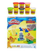Play-Doh Disney Junior The Lion Guard Play Set + Play-Doh Rainbow Starter Pack Bundle