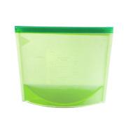 Silicone Food Storage Bag, Woopower Reusable Vacuum Food Sealer Silicone Storage Bag Container Kitchen Fridge