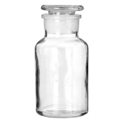 Apothecary Style Storage Jar Suitable For Storing Small Items In Bathroom