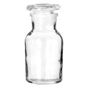 Storage Jar Clear 125ml With Tight And Secure Lid Multiple Use Jar