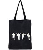 Skeyeye Simply Cute Cartoon Printing Teen Girls Shoulder Bags Canvas Handbag