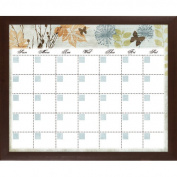 PTM Images Banbury Memo Calendar/Planner Glass Dry Erase Board