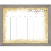 PTM Images Live Laugh Love Calendar/Planner Dry Erase Board