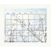 PTM Images Blossom Calendar/Planner Glass Dry Erase Board