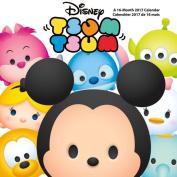 Disney Tsum Tsum 2017 16 Month Mini Calendar 7x7